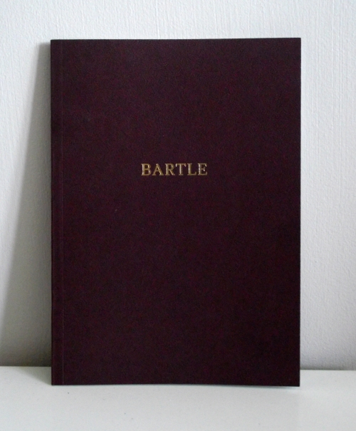 Bartle Catalogue cover